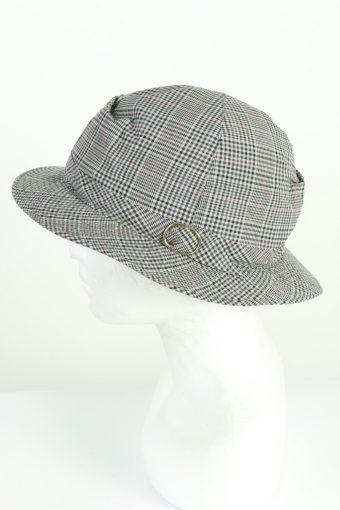 Vintage Topman Esclusiv 1970s Fashion Mens Short Brim Lined Hat Multi HAT1229-124698