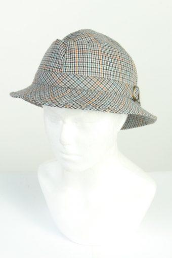 Vintage CA Canda Fashion Mens Brim Lined Hat