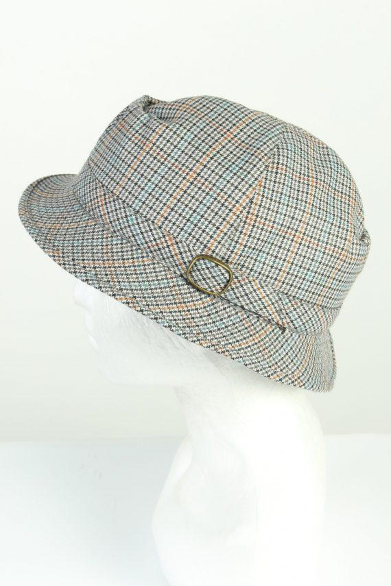 Vintage C&A Canda 1990s Fashion Mens Brim Lined Hat Multi HAT1265-125576