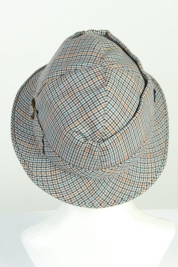 Vintage C&A Canda 1990s Fashion Mens Brim Lined Hat Multi HAT1265-125577
