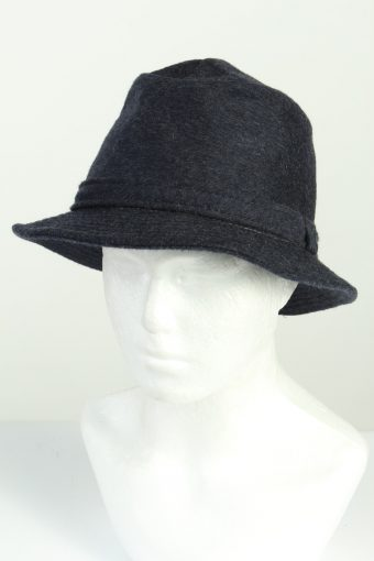 Vintage Henry Stanley Fashion Mens Trilby Lined Hat