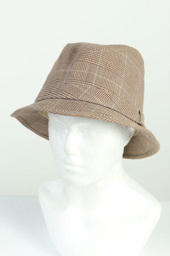 Vintage HM Fashion Mens Trilby Lined Hat