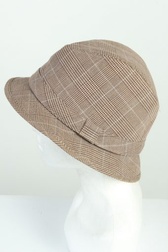 Vintage H&M 1980s Fashion Mens Trilby Lined Hat Multi HAT1274-125612