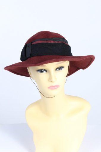 Vintage Anneliese Kuhn Fashion Womens Trilby Hat