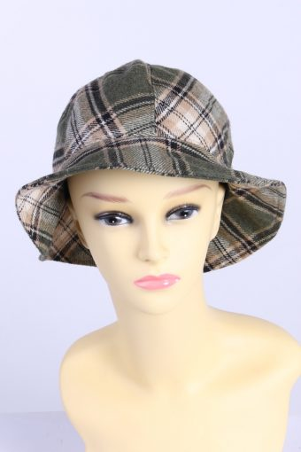 Vintage Fashion Womens Brim Lined Hat