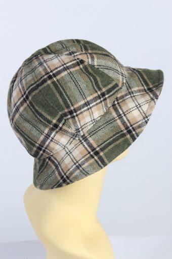 Vintage 1970s Fashion Womens Brim Lined Hat Multi HAT1312-126131