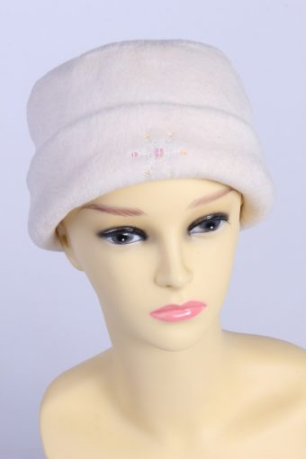 Vintage Fashion Womens Fleece Beanie Hat