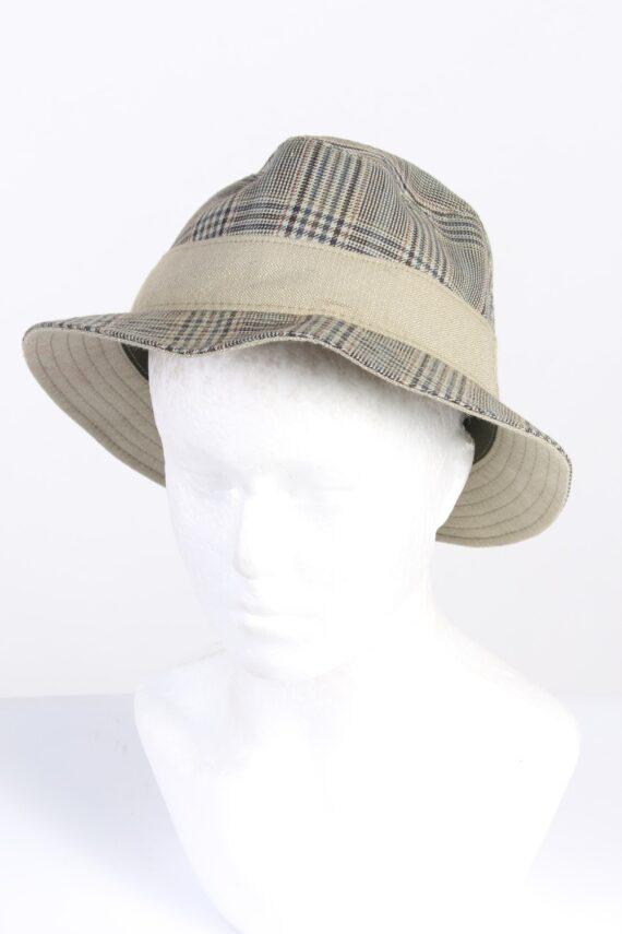 Vintage Wegener 1990s Fashion Mens Trilby Lined Hat Multi HAT1325-0