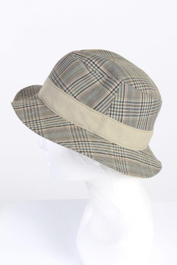 Vintage Wegener 1990s Fashion Mens Trilby Lined Hat Multi HAT1325-126183