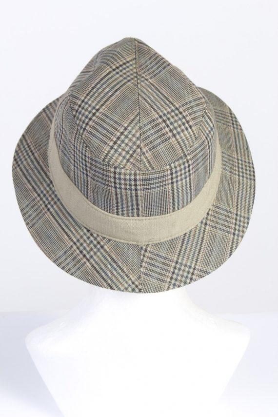 Vintage Wegener 1990s Fashion Mens Trilby Lined Hat Multi HAT1325-126184