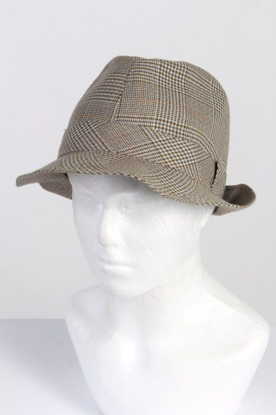 Vintage Peschel 1990s Fashion Mens Trilby Hat Multi HAT1329-0