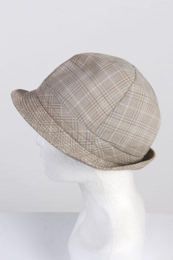 Vintage 1980s Fashion Mens Trilby Hat Multi HAT1331-126207