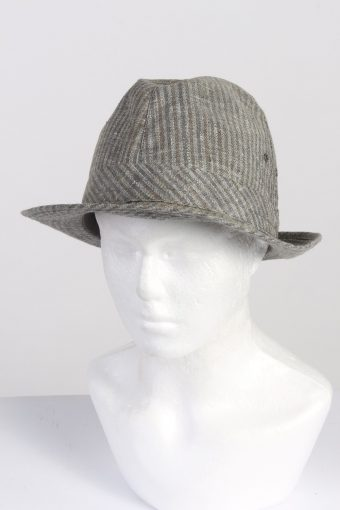 Vintage Chic Fashion Mens Trilby Hat