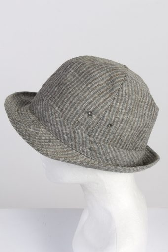 Vintage Chic 1980s Fashion Mens Trilby Hat Multi HAT1333-126215