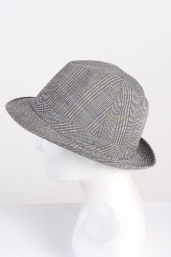 Vintage 1980s Fashion Mens Trilby Hat Multi HAT1335-126223
