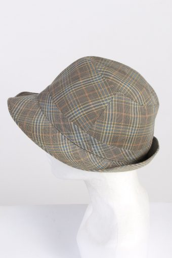 Vintage Mistral 1980s Fashion Mens Trilby Hat Multi HAT1336-126227