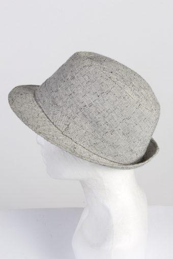 Vintage 1970s Fashion Mens Trilby Hat Multi HAT1345-126263