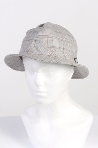 Vintage Fashion Mens Brim Soft Lined Hat