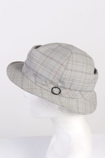 Vintage 1970s Fashion Mens Brim Soft Lined Hat Multi HAT1349-126279