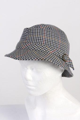 Vintage Mayser Fashion Mens Brim Soft Lined Hat