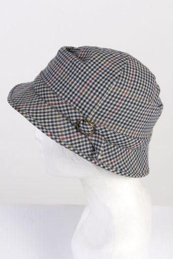 Vintage Mayser 1970s Fashion Mens Brim Soft Lined Hat Multi HAT1350-126283