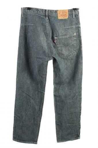 Vintage Levis 501 Mid Waist Unisex Jeans W32 L33 Grey J4437-124486