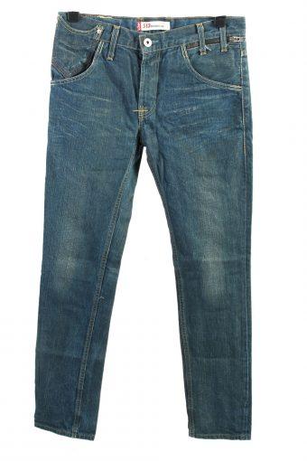 Levi's 513 Denim Jeans Skinny Leg Mens W33 L34