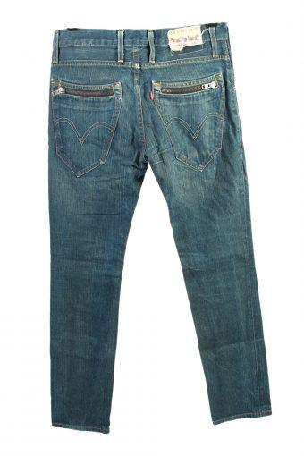 Vintage Levis 513 High Waist Unisex Jeans W34 L34 Blue J4438-124490