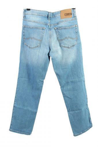 Vintage Mustang Mid Waist Womens Jeans W32 L30.5 Blue J4444-124514