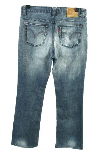 Vintage Levis Club High Waist Womens Jeans W34 L33 Blue J4449-124534