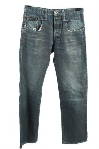 G-Star Raw Denim Jeans Straight Mens W28 L32