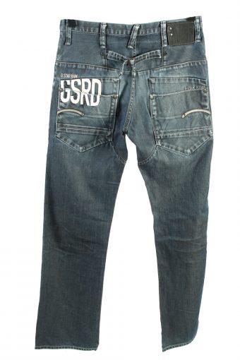 Vintage G-Star 3301 High Waist Womens Jeans W30 L33 Grey J4456-124562