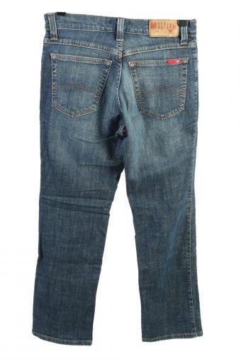Vintage Mustang Oregon High Waist Womens Jeans W32 L31 Blue J4457-124566