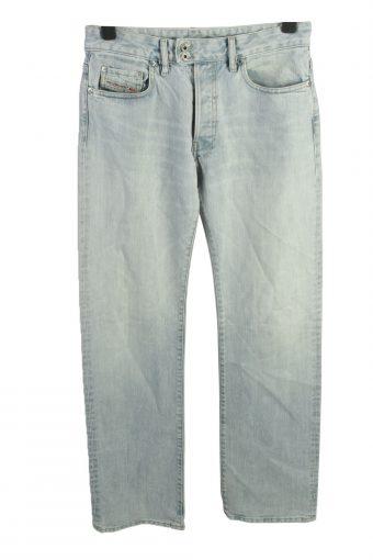 Diesel Mid Waist Unisex Denim Jeans Regular W32 L35 Ice
