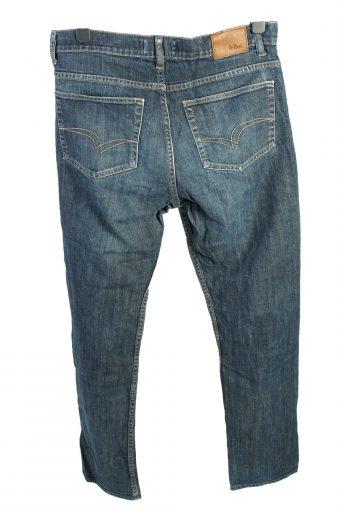 Vintage Lee Cooper High Waist Unisex Denim Jeans W35 L33 Blue J4484-125039