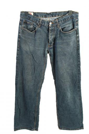 Lee Cooper Mid Waist Unisex Denim Jeans W34 L32