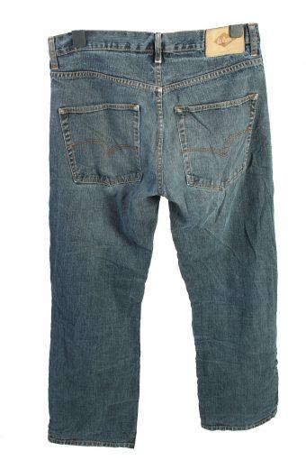 Vintage Lee Cooper Mid Waist Unisex Denim Jeans W34 L32 Blue J4485-125043