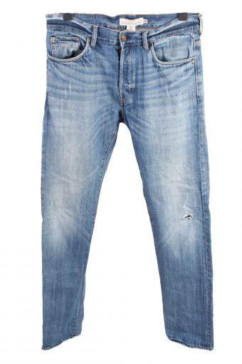 H&M LOGG High Waist Unisex Denim Jeans W34 L35
