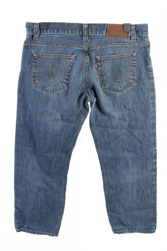 Vintage Levis 506 Mid Waist Unisex Denim Jeans W37 L34 Blue J4529-126319