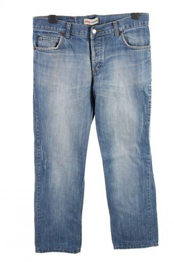 Levi's 506 Mid Waist Unisex Denim Jeans W35 L33