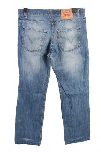 Vintage Levis 506 Mid Waist Unisex Denim Jeans W35 L33 Blue J4536-126346