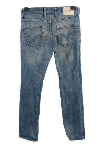 Vintage Levis 504 Mid Waist Unisex Denim Jeans W32 L34 Blue J4537-126350