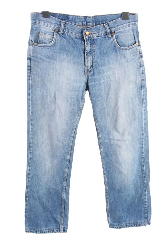 Vintage MC Kanzie High Waist Unisex Denim Jeans W34 L29.5 Mid Blue J4555-0