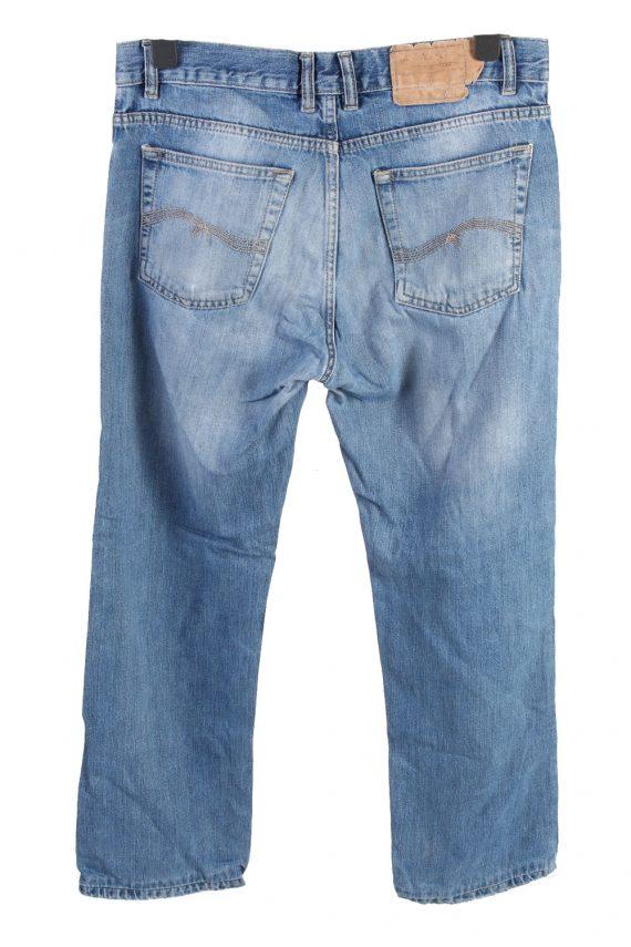 Vintage MC Kanzie High Waist Unisex Denim Jeans W34 L29.5 Mid Blue J4555-126421