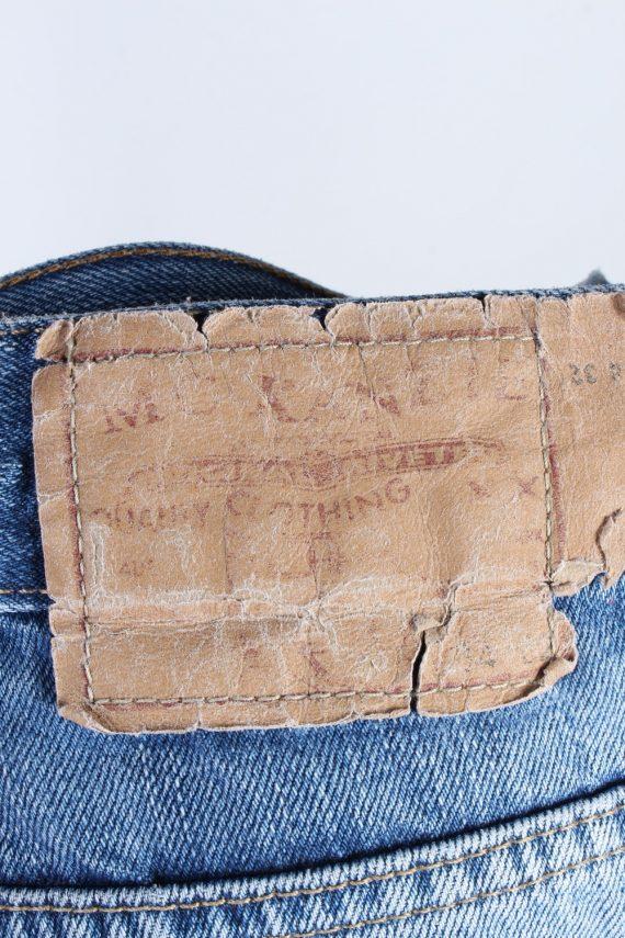 Vintage MC Kanzie High Waist Unisex Denim Jeans W34 L29.5 Mid Blue J4555-126422