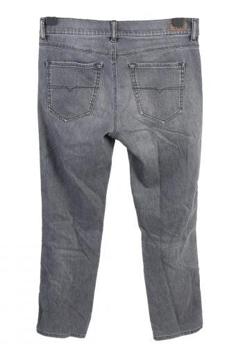 Vintage Diesel Mid Waist Unisex Denim Jeans W32 L27.5 Grey J4559-126437