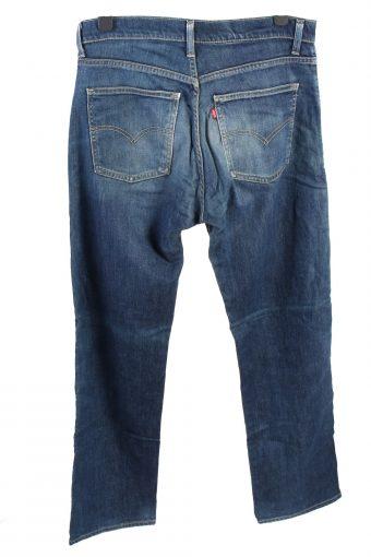 Vintage Levis 515 High Waist Unisex Denim Jeans W34 L34 Dark Blue J4565-126461