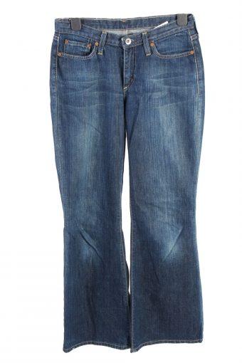 G-Star Fla Leg Mid Waist Womens Jeans W28 L305