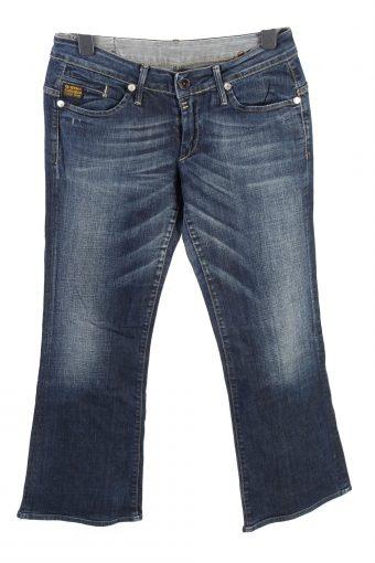 G-Star Mid Waist Womens Jeans Stonewashed W32 L29
