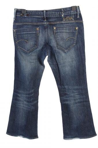 Vintage G-Star Mid Waist Womens Denim Jeans W32 L29 Dark Blue J4578-126513